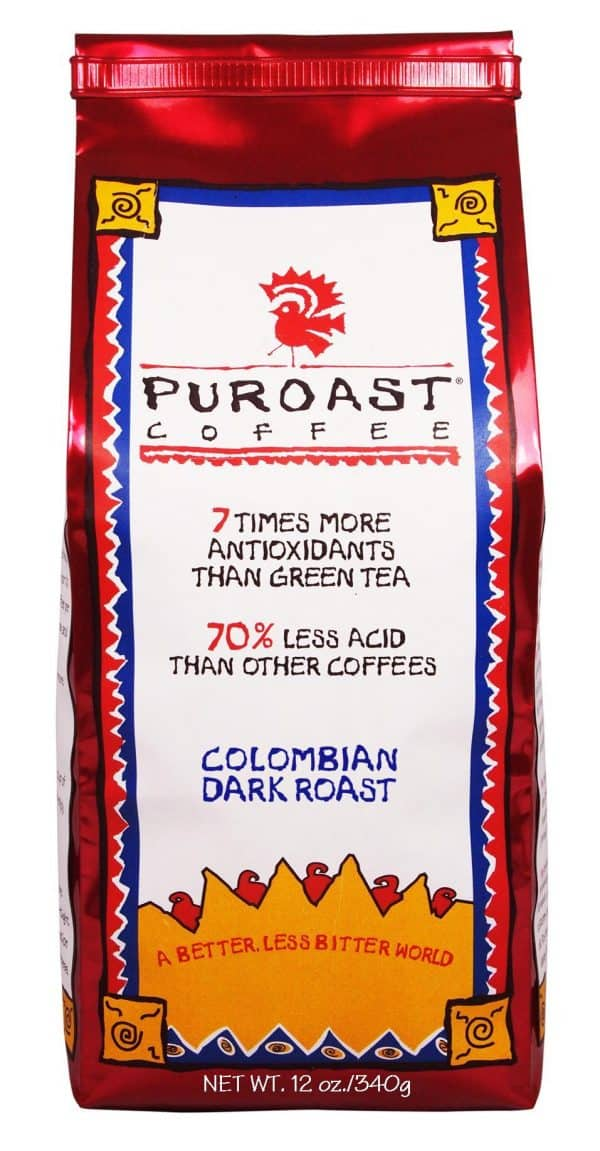 Low Acid Colombian Dark Roast-0